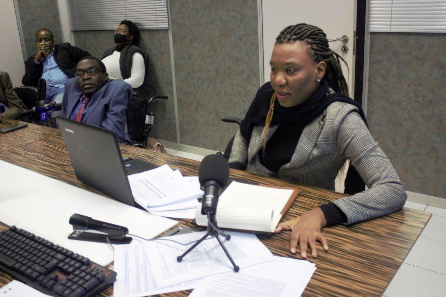 Malebogo Molefhe, Facilitating the Training Workshop