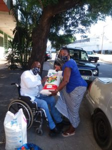 FAMOD's work on COVID-19 in Mozambique