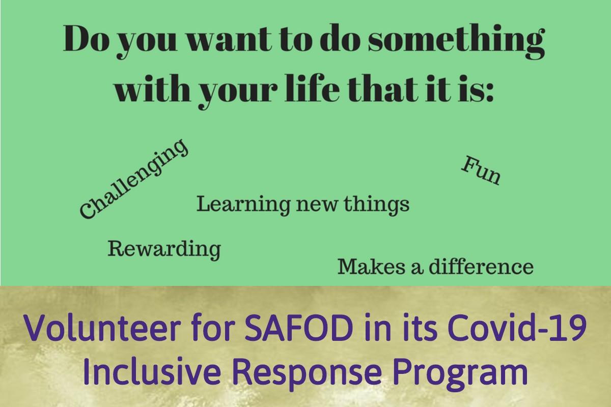 Volunteer for SAFOD